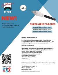 Vignette FCI Super Grip Forceps Flyer
