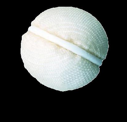 Mesh-Wrapped Bioceramic Implants